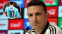 Lionel Messi: Scaloni confiesa qué sucederá con la '10' en Argentina