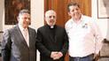 Candidato evangélico recibe apoyo de Arzobispo de Arequipa