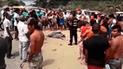 Tumbes: agricultor muere arrollado por un auto  [VIDEO]
