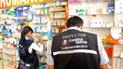 Intervienen farmacias y boticas por venta ilegal de medicinas en frontera de Perú y Ecuador