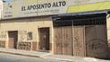Hinchas de Alianza Lima pintan fachadas de 'Aposento Alto' [FOTOS]
