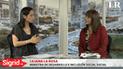 """Liliana La Rosa, del MIDIS: """"43 de cada 100 niños tienen anemia en el Perú"""""""