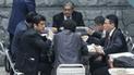 Hinostroza y ex integrantes del CNM acuden al Congreso
