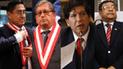 César Hinostroza y exmiembros del CNM presentan sus descargos en el Congreso