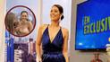 Karen Schwarz luce revelador escote e impacta a televidentes [VIDEO]