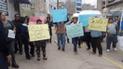 Junín: transportistas protestan contra la informalidad en el sector