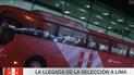 Gran recibimiento de la selección peruana tras su mini gira por Europa [VIDEO]