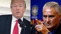 Tite: La contundente respuesta del entrenador de Brasil a Donald Trump [VIDEO]