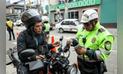 San Borja: Realizan operativos contra motociclistas y raqueteros