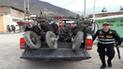Cajamarca: Policía recuperó 13 motocicletas reportadas como robadas