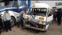 Huancayo: Accidente de tránsito deja siete heridos, entre ellos estudiantes