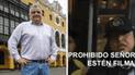 Inspectores del Metropolitano bloquean transmisión de candidato a Lima [VIDEO]