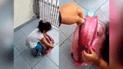 Facebook viral: padre busca dentro de la mochila de su hija y halla lo increíble [VIDEO]