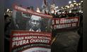 Así se realizó la marcha contra la permanencia del fiscal Pedro Chavarry [FOTOS]