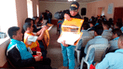 Cajamarca: brindan charlas de orientación y sensibilización sobre terrorismo