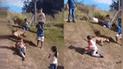 """YouTube: perro tiene peculiar forma para divertirse como """"bebé"""" y realiza esto [VIDEO]"""