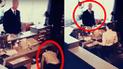 YouTube viral: mira la espeluznante escena que cometió un extraño hombre de negro [VIDEO]