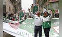 Elecciones municipales 2018: Candidato Alberto Beingolea Recorre el emporio comercial de Gamarra. [FOTOS]