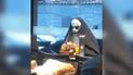 Facebook: se viste de 'La Monja' para causar terror, pero un detalle lo deja en ridículo [VIDEO]