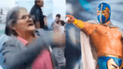 Facebook viral: luchador enmascarado se enfrenta con abuela y queda en vergüenza [VIDEO]