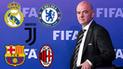 FIFA alista nueva regla que amenaza a Real Madrid, Barcelona y otros grandes