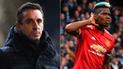 Gary Neville lanzó dura crítica a Paul Pogba por su posible salida del United