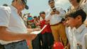 Martín Vizcarra: El tierno pedido de niño de Tumbes contra la delincuencia