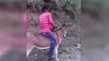 YouTube: niño se acerca a su burro, lo monta y ambos huyen a toda velocidad [VIDEO]