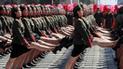Así fue el impresionante desfile militar de Corea del Norte [VIDEO]