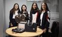 Alumnas de cuarto de secundaria comercializan maletines multiusos