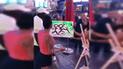 Facebook: violenta reacción de pareja al ver dibujo que le hizo un artista callejero [VIDEO]