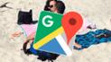 Google Maps capta a pareja 'mutante' en una famosa playa e imágenes causan revuelo [FOTOS]