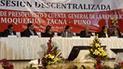 Gobernadores de Puno, Tacna y de Moquegua se reunieron para pedir presupuesto