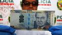 Ancón: PNP incautó más de S/4 millones de billetes falsos [VIDEO]