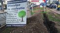 Vecinos de Surco rechazan el retiro de árboles de la Av. Benavides
