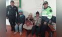 Junín: en menos de 24 horas Policía encuentra a familiares de anciana perdida