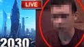 YouTube viral: afirma ser un 'viajero del tiempo' del año 2030 y revela terrible futuro [VIDEO]