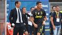 Massilimiano Allegri aseguró que Cristiano Ronaldo merece el premio The Best