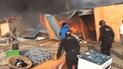Nuevo Chimbote: incendio arrasa con viviendas y deja más de cien damnificados
