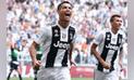 Juventus ganó 2-1 a Sassuolo con doblete de Cristiano Ronaldo en Serie A [RESUMEN Y GOLES]