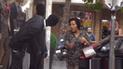 Facebook: curiosa reacción de transeúntes al ver que maniquíes recobran vida [VIDEO]