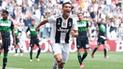 Juventus vs Sassuolo: primer gol de Cristiano Ronaldo en Serie A [VIDEO]