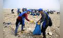 Recogen siete toneladas de residuos de la playa Costa Azul de Ventanilla