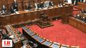 Presidente del Consejo de Ministros César Villanueva sustenta cuestión de confianza en el Congreso