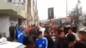 Ate: Colectiveros se balean en la calle y encima golpean inspectores[VIDEO]
