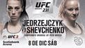 UFC 231: ¡Confirmado! Valentina Shevchenko vs Joanna Jędrzejczyk por título mundial