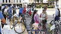Promueven uso de la bicicleta en Chiclayo