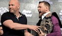 UFC: así fue la polémica rueda de prensa entre McGregor y Nurmagomedov [VIDEO]