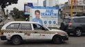 Elecciones 2018: paneles impiden visibilidad de conductores en el Callao