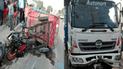 Trujillo: accidentes de tránsito dejan dos muertos